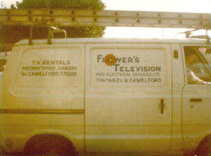Flowers TV van