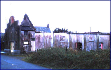 Burnt Out Shell Of The Regal Cinema, Delabole