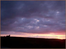 Beautiful Sunset Over Tintagel Church. Photograph by Neil Lynch