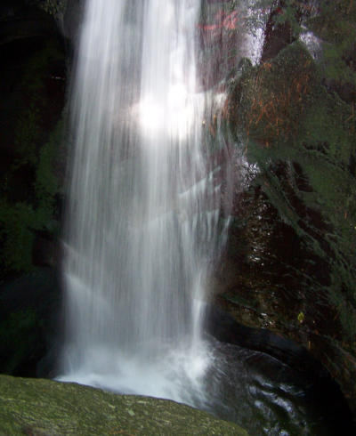 St Nectans Waterfall   Image copyright Kevin Edwards