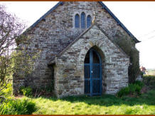 Treknow Church entrance