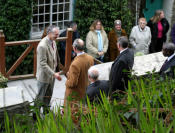 Prince Charles meeting residents