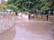Flood water