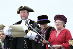 Incoming Mayor & Mayoress By His Side