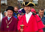 Lord Mayor & Town Cryer Arrive