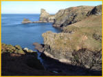Look Back At Rocky Valley From Bossiney