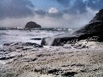 Spray and Foam at Trebarwith December 2002