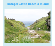 Tintagel Castle Beach & Island